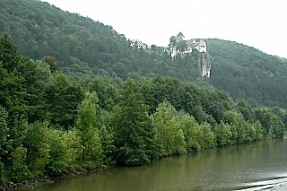 Castle on the Main Danube Canal